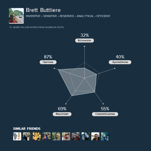 Brett Buttlierre on Twitter and Facebook